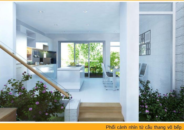 Bán nhà phố 1 trệt 3 lầu 2MT thuận lợi cho kinh doanh cho thuê gần chợ, bệnh viên