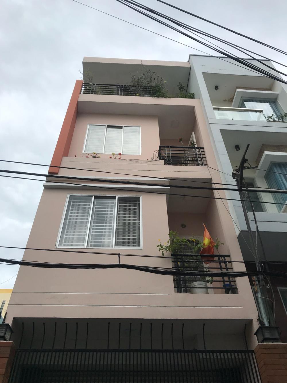 Bán nhà HXH 6m (4.5x12.5m) Nơ Trang Long, P. 12, Bình Thạnh