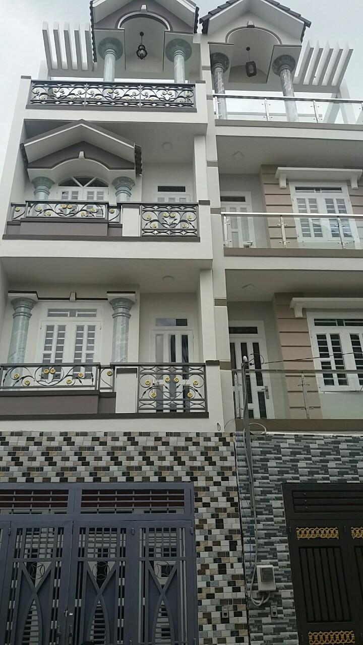 Nhà hẻm 6m 133 Lê Đình Cẩn, Tân Tạo, Bình Tân, 4.25x14m, 4 lầu, 4 tỷ 15
