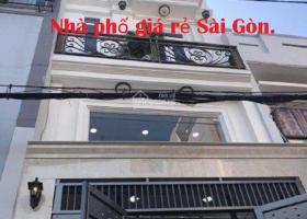 Nhà mặt tiền kinh doanh đường Hạnh Thông, P3, Gò Vấp, giá rẻ. 7305835
